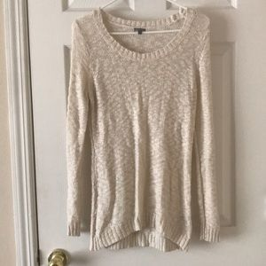 Cream colored sweater